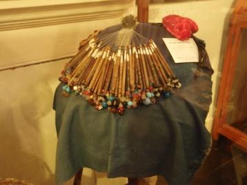 Olney lace-making bobbins